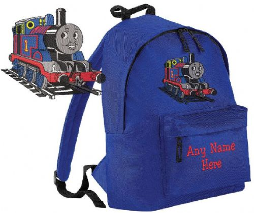 THOMAS TANK ENGINE Rucksack/Backpack with any name.